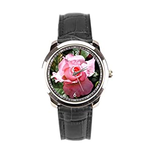 sanYout Wrist Watch Band Photo Leather Straps For Watches Nature Best Wrist Watch Blossom