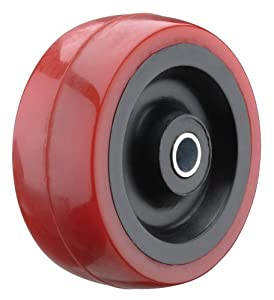 Steelex D2650 2-Inch 165 Lbs Polyurethane Wheel with Roller Bearing Hub