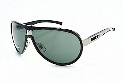 Amazon.com: Gucci 1566/S Aviator Sunglasses,Black