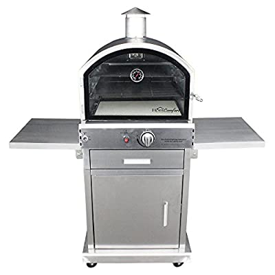 HomComfort Stainless Steel Pizza Oven