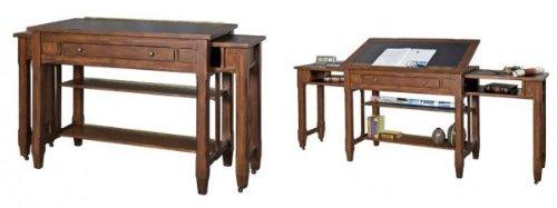 """Portland Loft Architect's Desk (Clove) (36""""H x 60""""W x 24""""D)"""