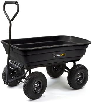 Gorilla 600 lb. Capacity Poly Garden Dump Cart
