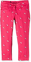 UFO Girls' Trousers (AW16-NDF-GKT-403_Pink_12 - 13 years)
