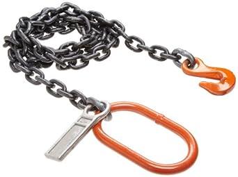 Mazzella SOG Welded Alloy Chain Sling, Fixed-Leg, Grade 80, Vertical Load Capacity