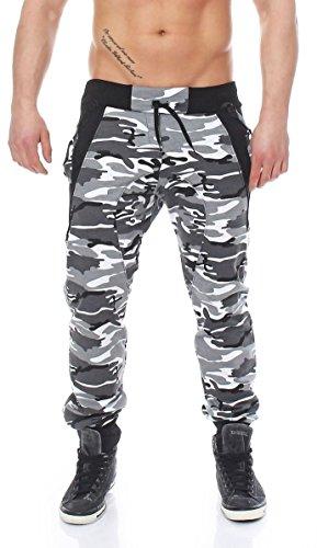malito more than fashion -  Pantaloni  - cavallo basso - Uomo - Camouflage