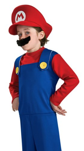 Rubies Super Mario Kids Halloween Costume Toddler 12-24 months