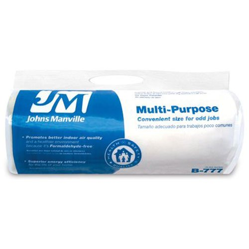 JOHNS MANVILLE INTL 90010045 R6.7 Unfaced Hand Fill Roll (Johns Manville Insulation compare prices)