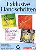 Software - Exclusive Handschriften