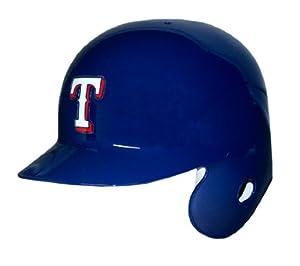 Texas Rangers Official Batting Helmet - Left Flap by Caseys