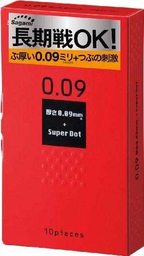 サガミ 0.09 ドット 1箱10個入