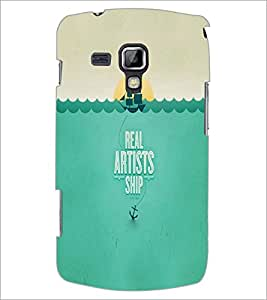 PrintDhaba Quote D-2998 Back Case Cover for SAMSUNG GALAXY S DUOS S7562 (Multi-Coloured)