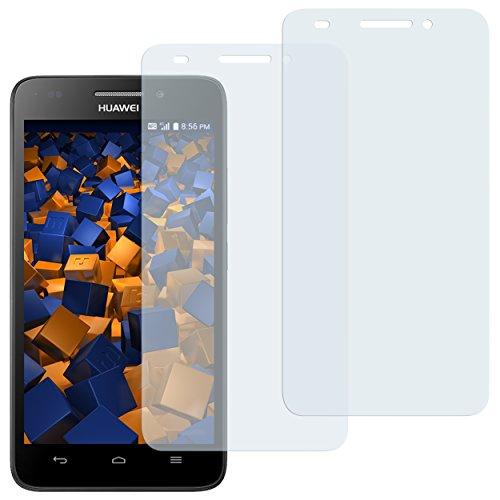 2 x mumbi Displayschutzfolie Huawei Ascend G620s Schutzfolie