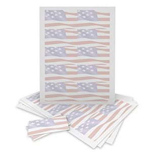 Gartner Studios 78481 Flag Business Cards, 250 Count