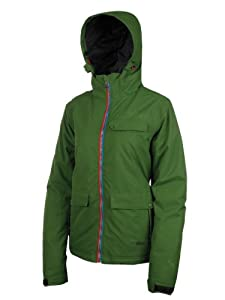 Protest Women's KELIS boardjacket  - Lettuce Green, Large/40