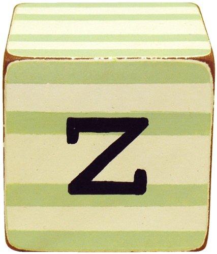 New Arrivals Letter Block Z, Green/White