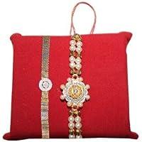 Handicrunch Rakhi With Gold Bracelet Rakhi Set Of 2