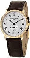 Frederique Constant Slim Line Silver Dial Gold-Plated Ladies