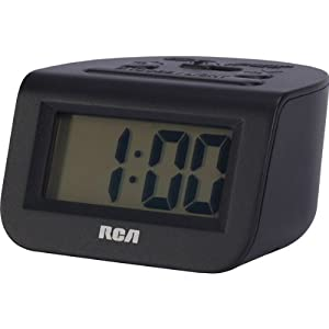 battery powered alarm clock travel alarm clocks lowest dfururjaa. Black Bedroom Furniture Sets. Home Design Ideas