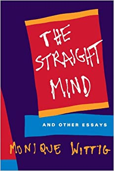 Amazon.com: The Straight Mind: And Other Essays (0046442079174