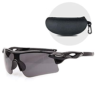 Openroad's Sports Sunglasses, lightweight & shatterproof with UV400 wrap around protection. Perfect as sports sunglasses for cycling, running, water sports, triathlon, fishing, walking & hiking etc. Come with a hard protective case.