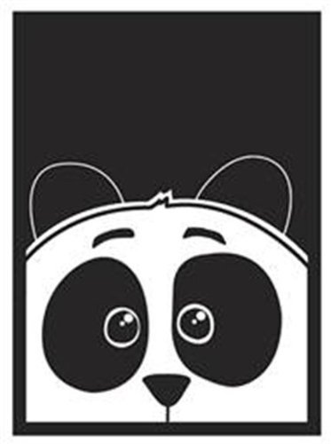 Card Sleeves: 50 Panda