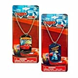 12-Pack Disney Pixar Cars Metal Dogtag Charm Necklaces