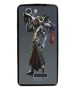 Techno Gadgets Back Cover for IMicromax Canvas Nitro 3 E352