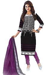 Gugaliya Women's Unstiched Superior Cotton FASHION SALWAR,KAMEEZ & DUPATTA Suit ( P518)