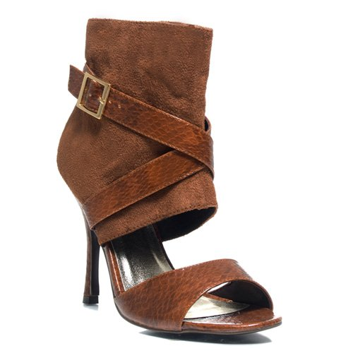HACHI Women's Cuffed Dress Heels