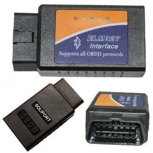 Yongtek ELM 327 Bluetooth Obdii Obd2 Diagnostic Scanner, Elm327 Wireless OBD 2 Scan Tool Check Engine Light CAR Code Reader by ELM327