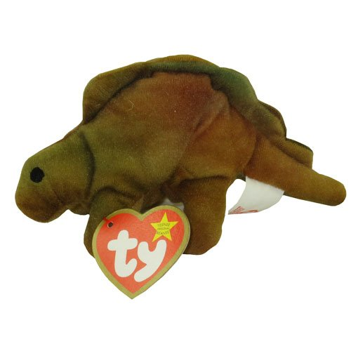 TY Teenie Beanie Babies Steg the Stegosaurus Stuffed Animal Plush Toy