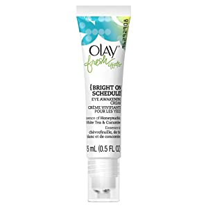 Olay Fresh Effects Bright On Schedule Eye Awakening Cream, 0.5 Fluid Ounce