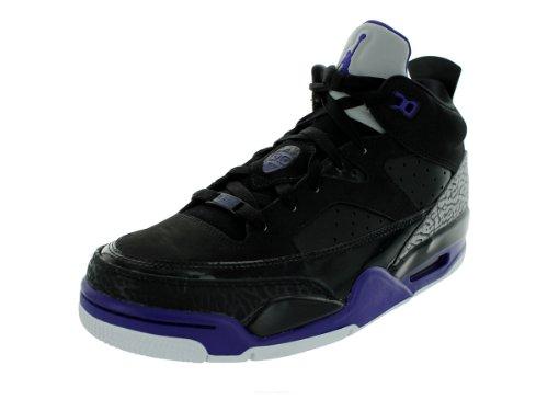 3bc38daa271885 Nike Air Jordan Son Of Low Mens Basketball Shoes 580603 008 Black 11 5 M US