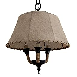 A&B Home Chandelier, 16 by 17.5-Inch