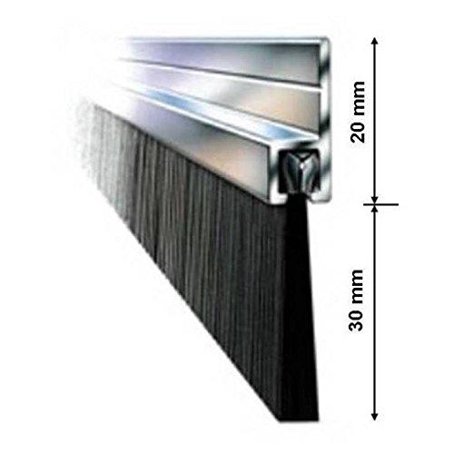 b rstendichtung t rdichtung torb rste zugluftstopper aluminium alu 100cm spar baumarkt. Black Bedroom Furniture Sets. Home Design Ideas