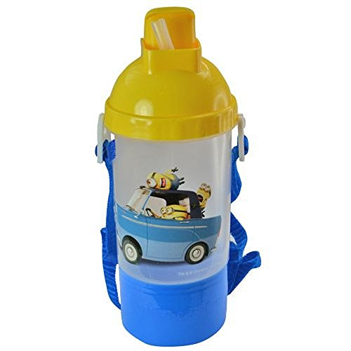 Despicable Me 2 Minion Rock & Sip Cup with Snack Container - 1