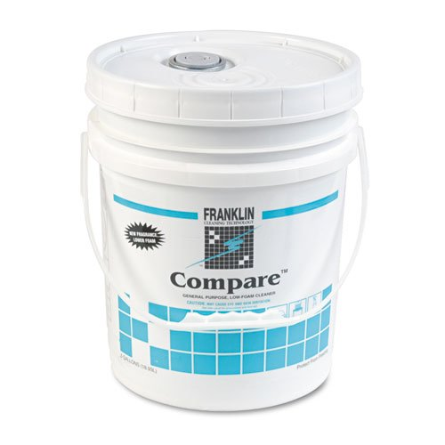 Franklin Cleaning Technology® – Compare Floor Cleaner, 5 gal Pail – Sold As 1 Each – Triple-action, heavy-duty neutral cleaner.