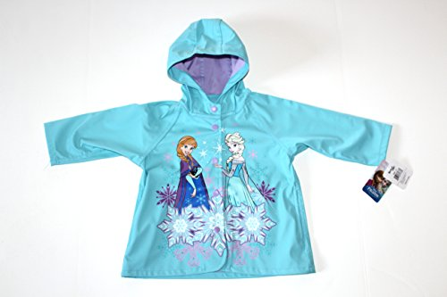 Disney Frozen Elsa and Anna Rain Jacket (2T) (Disney Frozen Rain Gear compare prices)