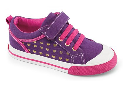 See Kai Run Girls' Kai Noel (Toddler/Youth) - Purple - 9.5 Toddler front-414566