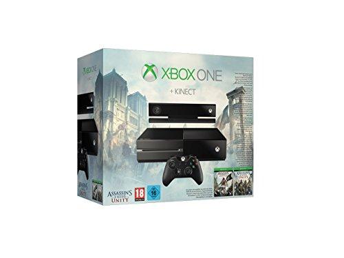 Xbox One Konsole + Kinect inkl. AC Unity