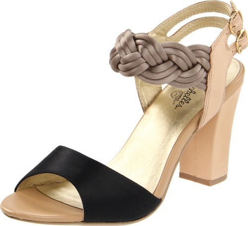 Seychelles Women's Snapdragon Ankle-Strap Sandal,Black,7.5 M US