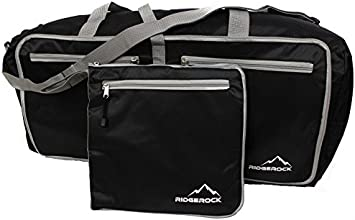 Travel Folding 27quot Duffle Bag with Shoulder Strap - Great Emergency Transfer Bag for a damaged su