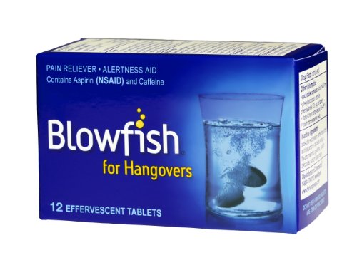Blowfish for Hangovers (12 Tablets)