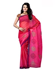 Shariyar Tissue Jacquard Art Silk Jacquard Saree PRC44045