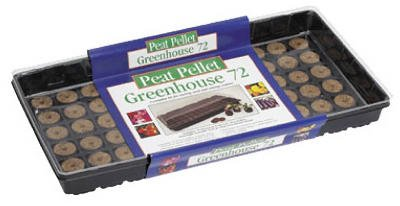 Plantation Products 72 Pellet Grn House Kit P072 Plant Trays & Seed Starting Materials
