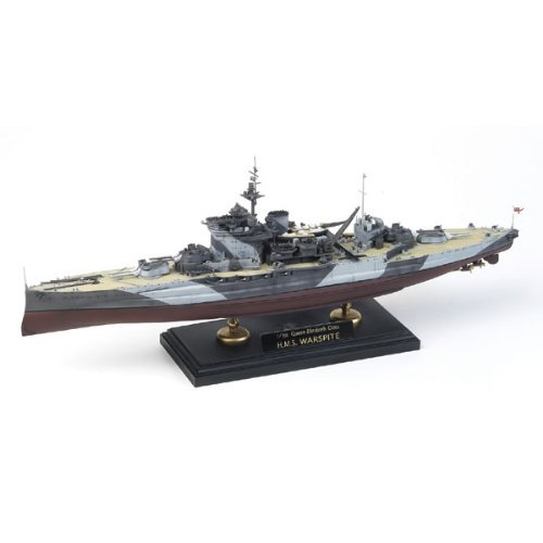 Academy Queen Elizabeth Class H.M.S. Warspite Boat Model Building Kit [並行輸入品]