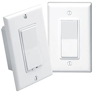 leviton anywhere decora rf remote 3 way switch kit wall light switches. Black Bedroom Furniture Sets. Home Design Ideas