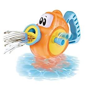 Baby Baby Turn N Spray Blow Fish Bath Toy