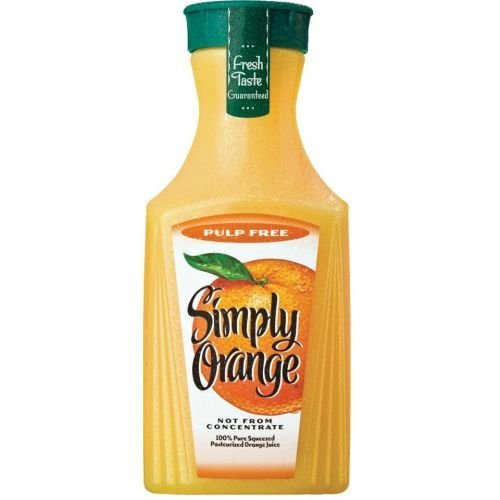 Simply Original Orange Juice, 1.75 Liter -- 6 per case.