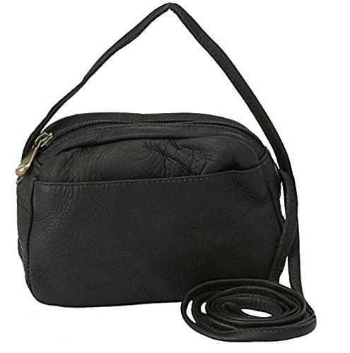 david-king-co-top-zip-mini-bag-517-black-one-size